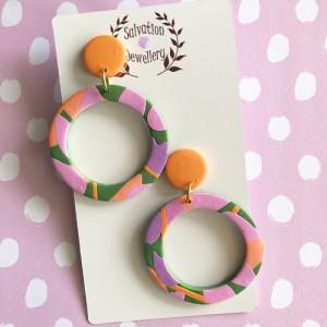 Hoop - Peachy Green