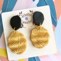 Ovals - Gold Leaf