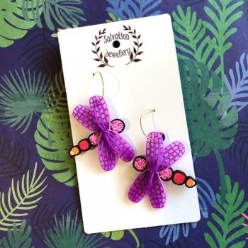 Dragonfly - Purple